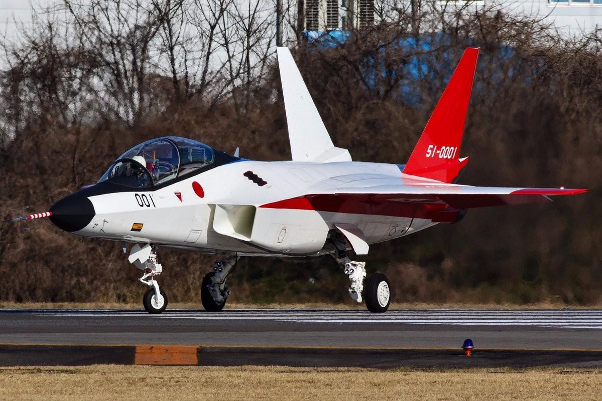 该型飞机是日本用来验证隐身技术.