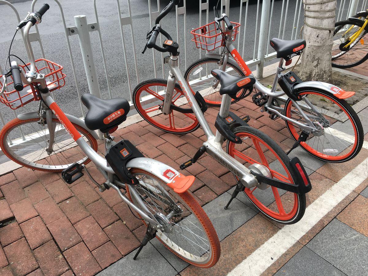 画自行车局部步骤