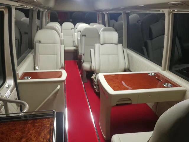 进口丰田考斯特11座商务车多少钱售全国