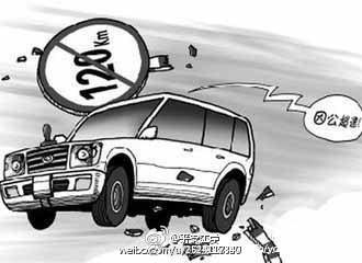 <em>超速</em>行驶的危害