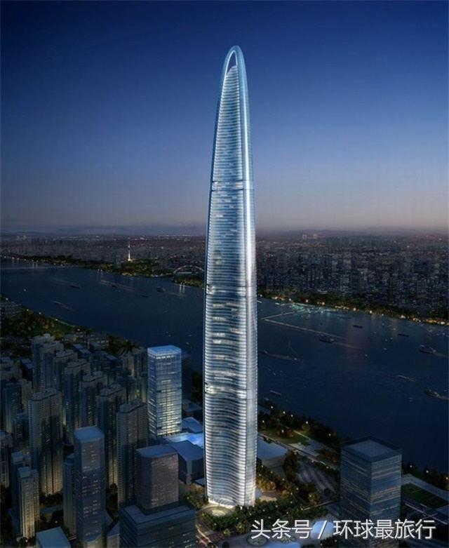 中国未来第一高楼,仅比上海中心大厦高四米