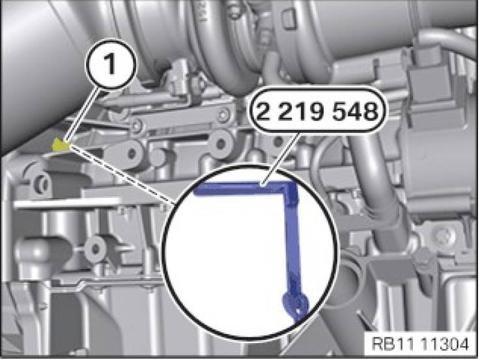 宝马X3N20发动机正时