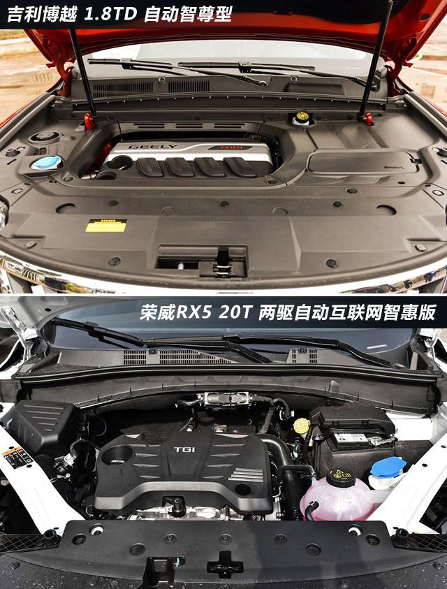 """""""网红""""对决 吉利博越对比荣威RX5"""