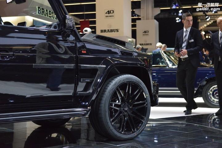2017法兰克福IAA:Brabus 900奔驰G65 AMG