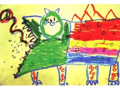 绘本中的创意美术:年/我的宠物是怪兽,了解中国年的文化习俗!