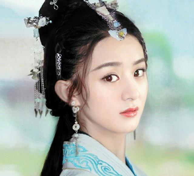 2018年古装剧的女星扮相!李沁清丽赵丽颖很美!