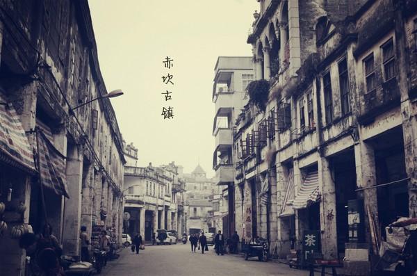 广东这个古镇清一色的骑楼, 有
