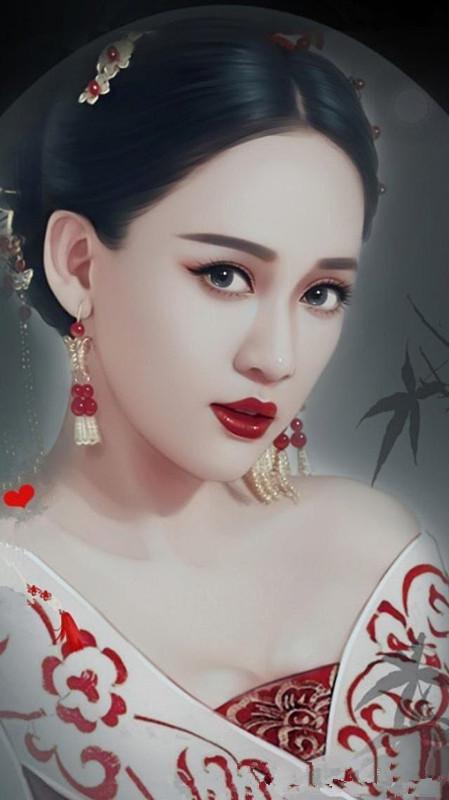 手绘古装装扮的赵丽颖美得像异族公主,热巴蒋欣杨幂更
