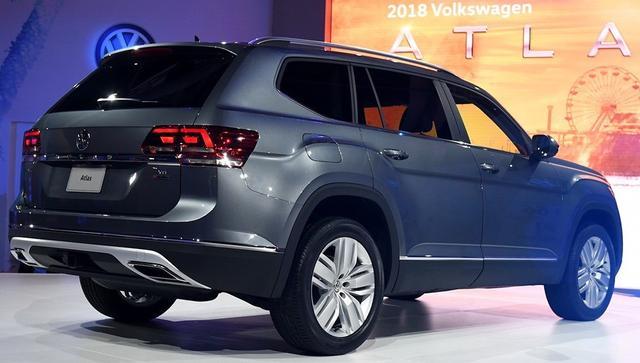 汽车:领导者大众在2018年即将推出新款SUV车
