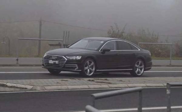 奥迪S8无伪装测试车捕获 A6最快明年初亮相