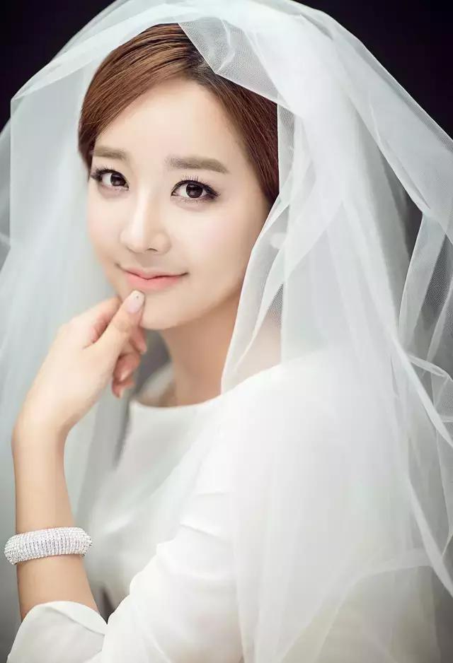 广州韩式新娘妆,做个最美丽的新娘图片