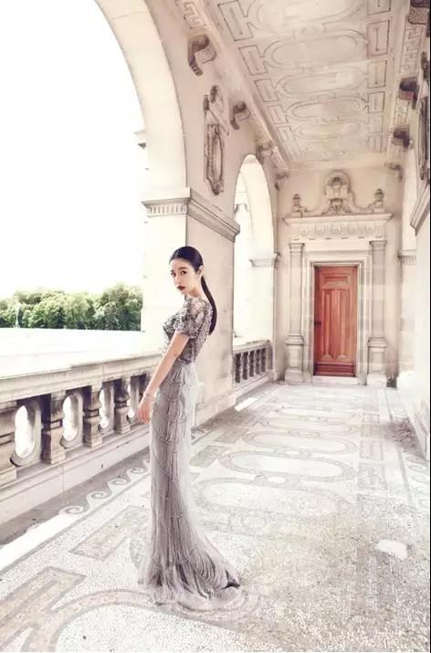 进驻香港杜莎夫人蜡像馆形象大片,受国内一线时尚杂志及港林心如邀请图片