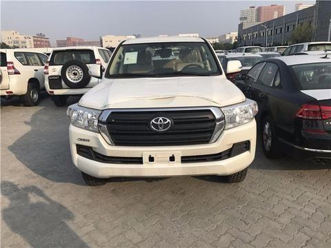 18款丰田酷路泽4000中东版天津港现车报价年底大促销