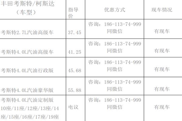平行进口丰田考斯特到底值不值得购买?