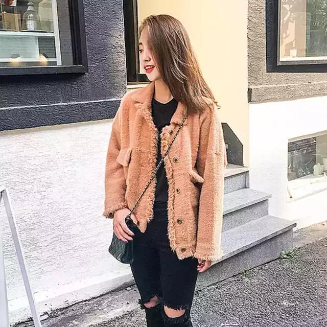毛绒外套,寒冬也挡不住刷街的脚步