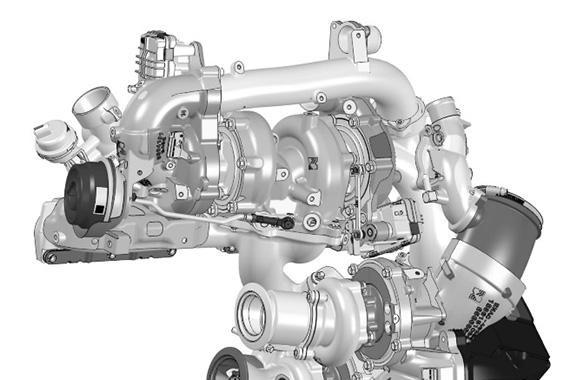 博格华纳推出配备四台<em>涡轮增压器</em>的两级<em>涡轮增压</em>系统