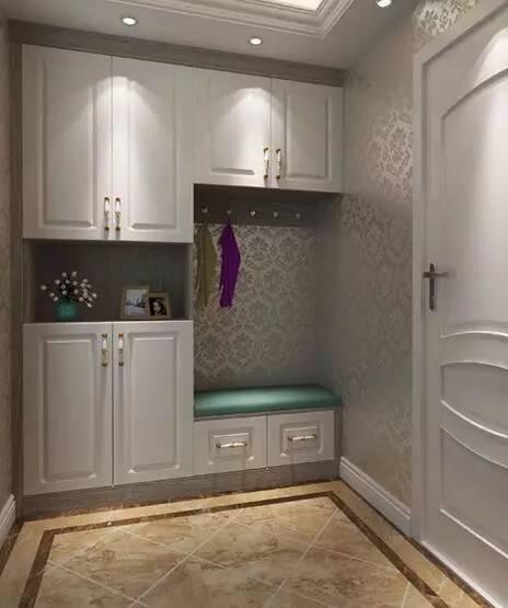 玄关鞋柜的设计与搭配图片