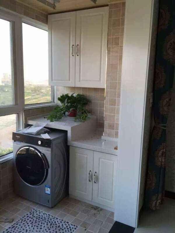 3,电视墙做柜子
