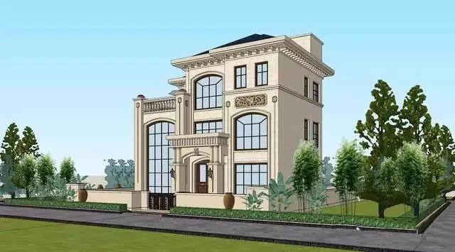 三层民宿自建别墅,以自住为主的价格,20万左右建农村别墅名古屋日本图片