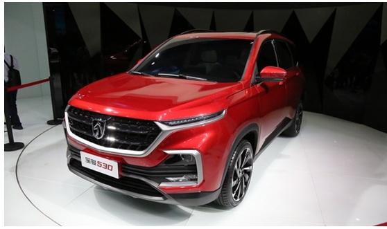 宝骏530亮相广州车展,2018年上半年正式上市