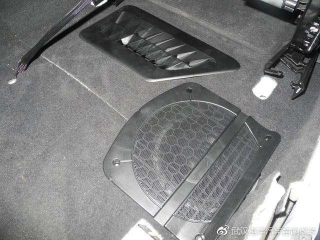 宝马520汽车音响改装升级德国诗蔓音响-港声音响