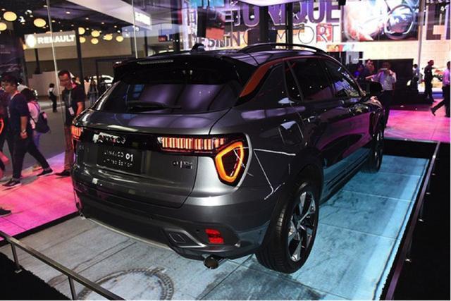 137秒抢完6201台,领克01广州车展正式预售,论吊胃口长城不如它