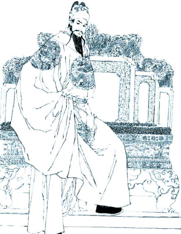 黑白插画手绘复杂图片