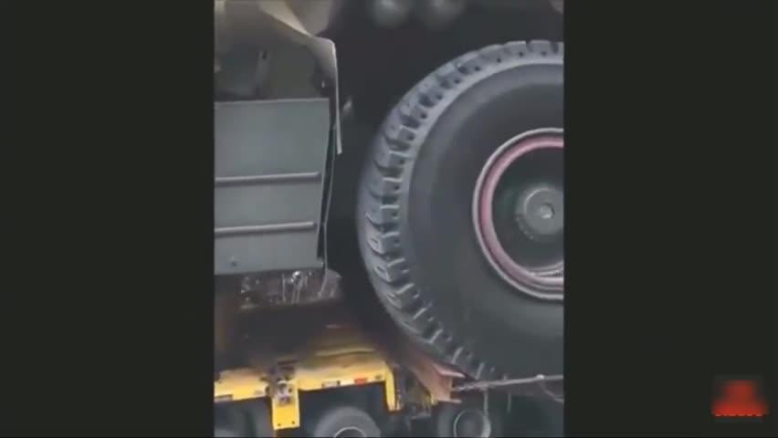 霸气!没有几辆<em>大马力</em>的车根本拉不动