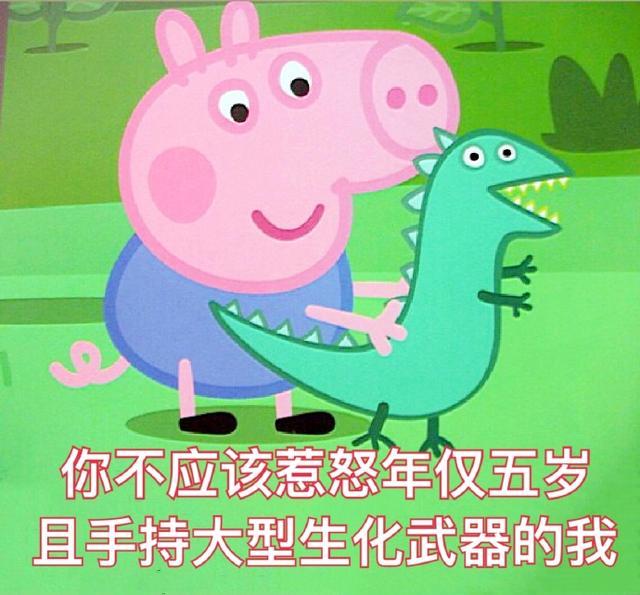 斗图必备的小猪佩奇表情喵表情包咪日常动态图片