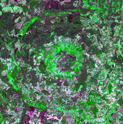 地球8大震撼人心的陨石坑,有一个在中国