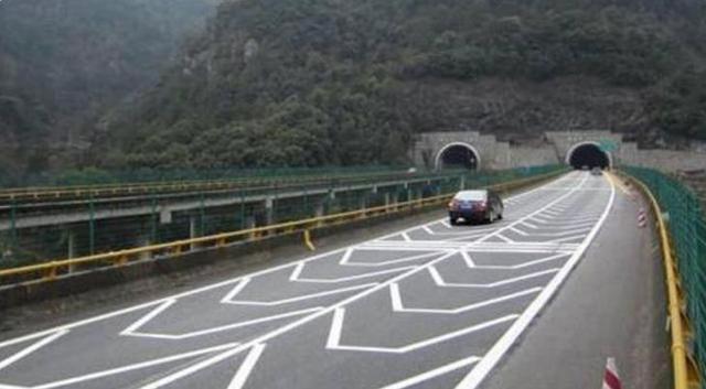 道路标志线大全图解