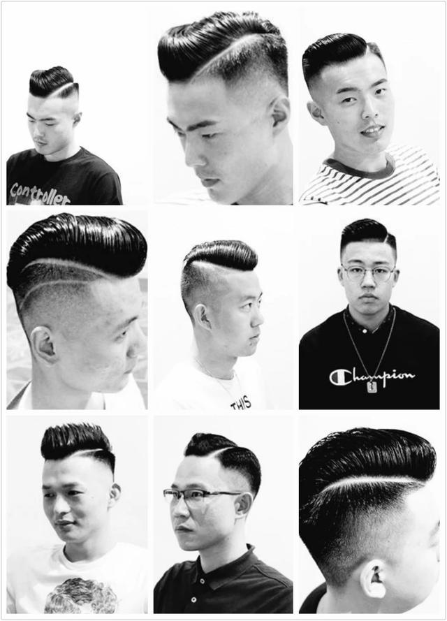 瓜子头发型学生分享展示