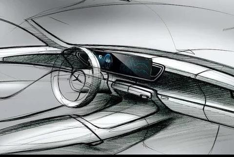 10月巴黎车展首发奔驰GLE内饰草图彰显最新家族设计