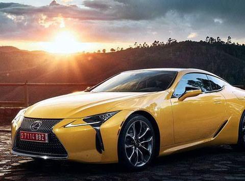 雷克萨斯LC黄色特别版 10月巴黎车展亮相