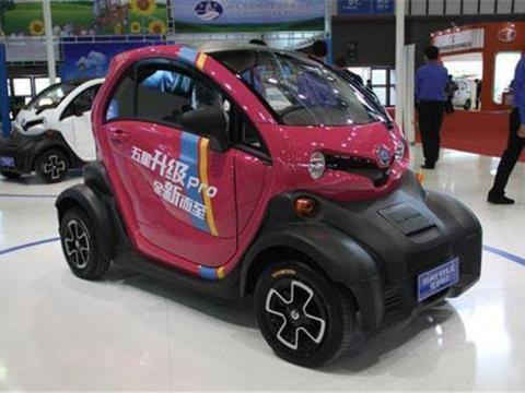 造型个性的微型车,带<em>冷暖空调</em>,续航120km,2.78万比摩托车强