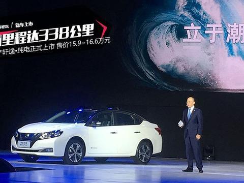 新款轩逸·纯电/新品SUV 东风日产新能源产品规划