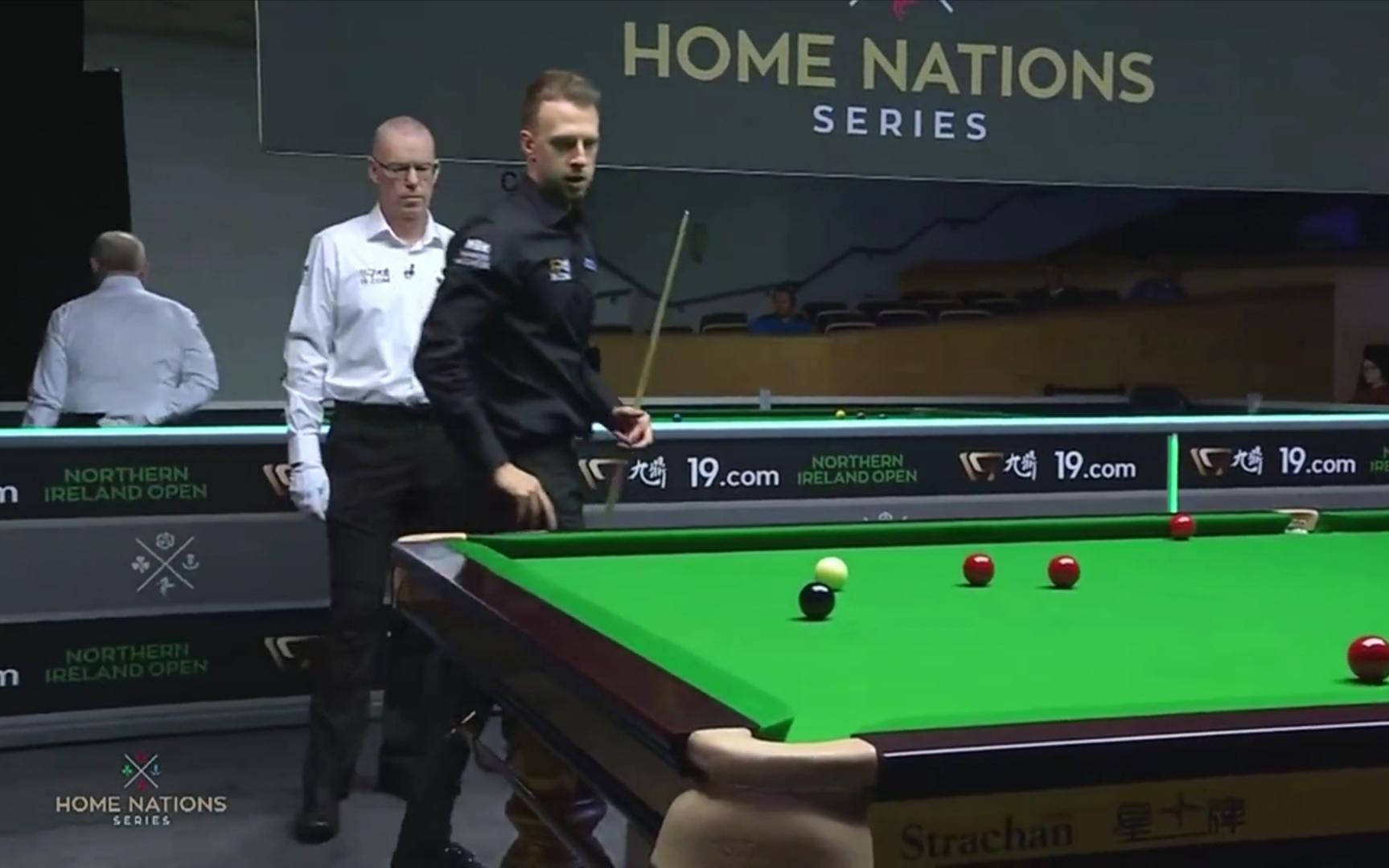 北爱尔兰公开赛:特鲁姆普三破百4-3险胜卡希尔晋级