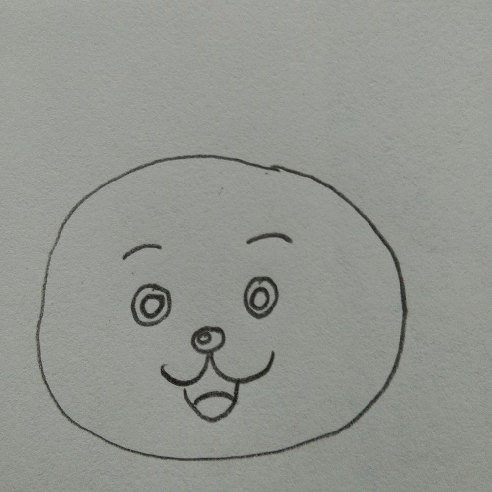 动画版小花猫铅笔彩色画画法 如何用铅笔和蜡笔画小猫