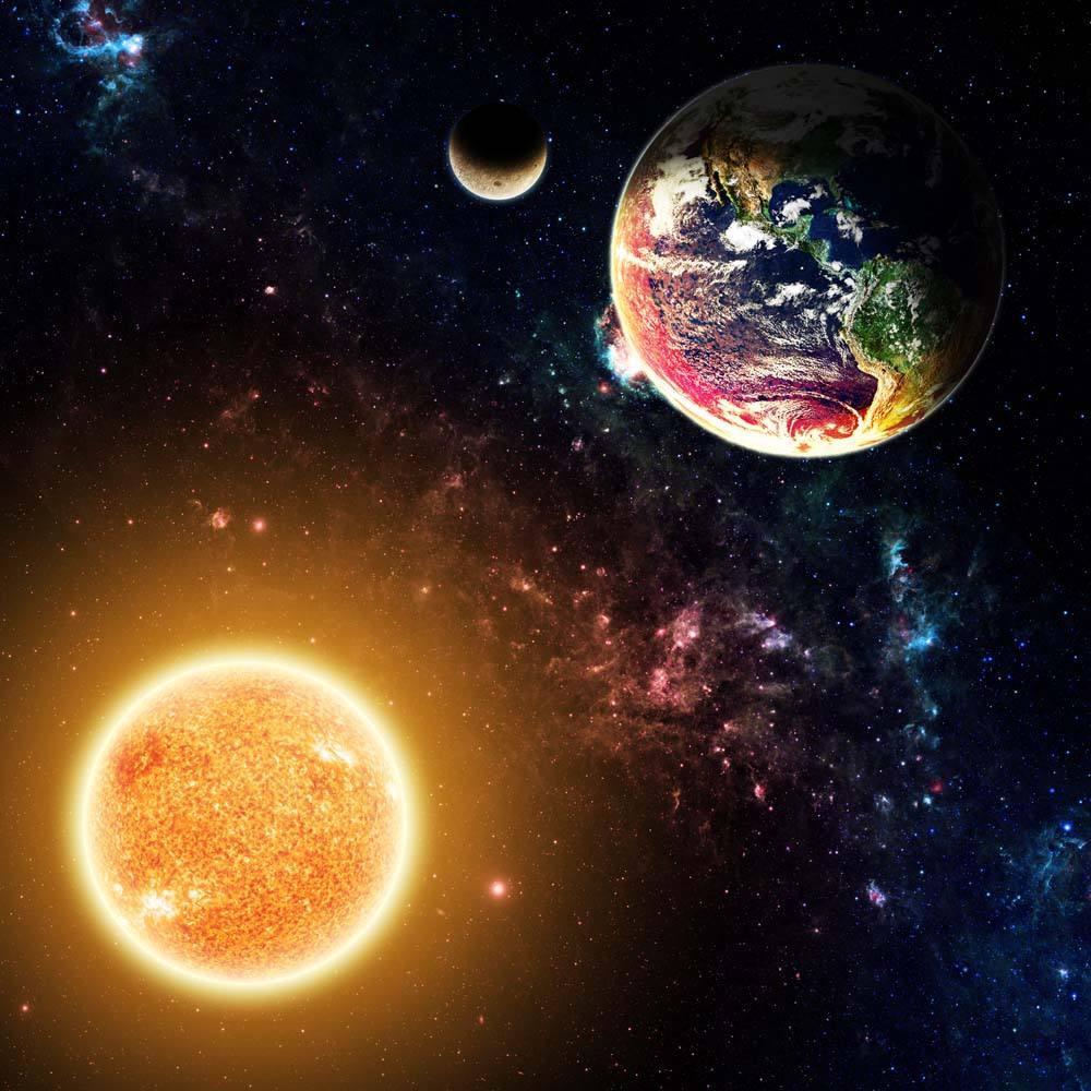 月球努力逃离地球内幕, 太阳要吞噬月球