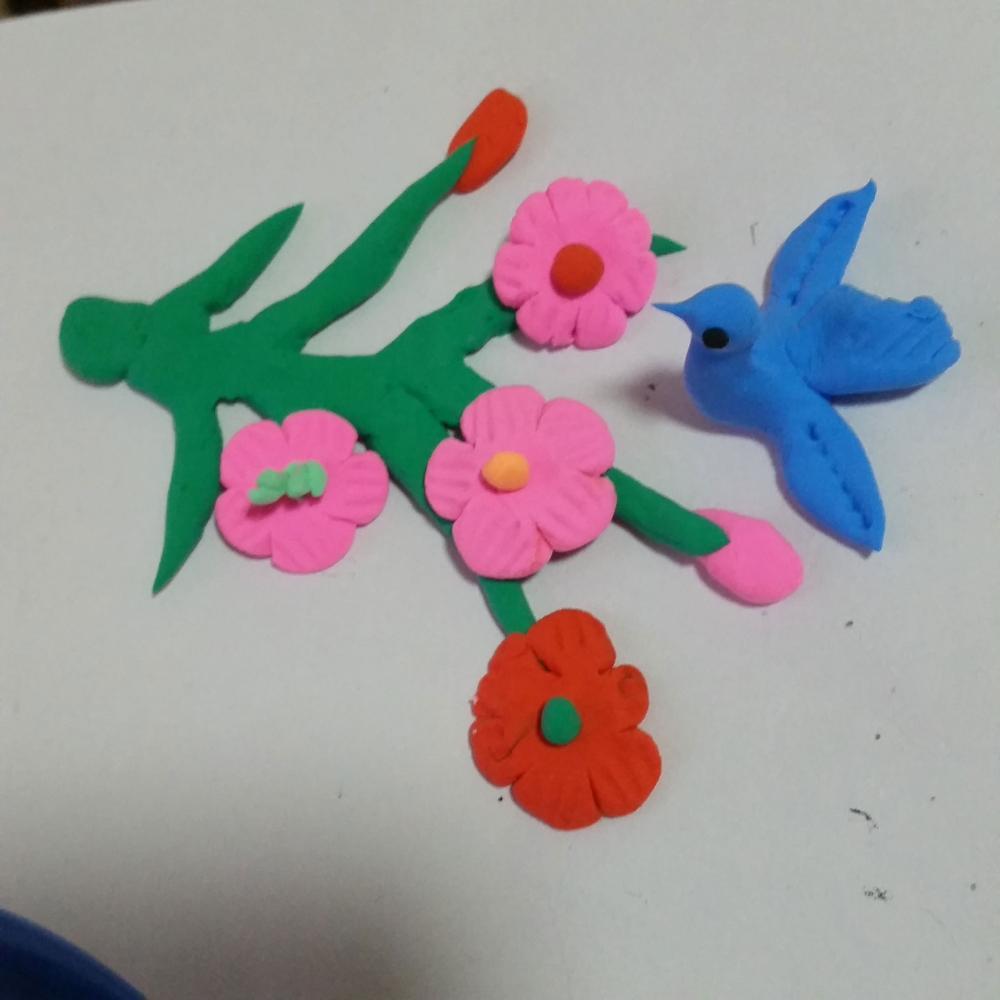 漂亮的小花朵diy手工制作 教你用彩泥做小花的做法