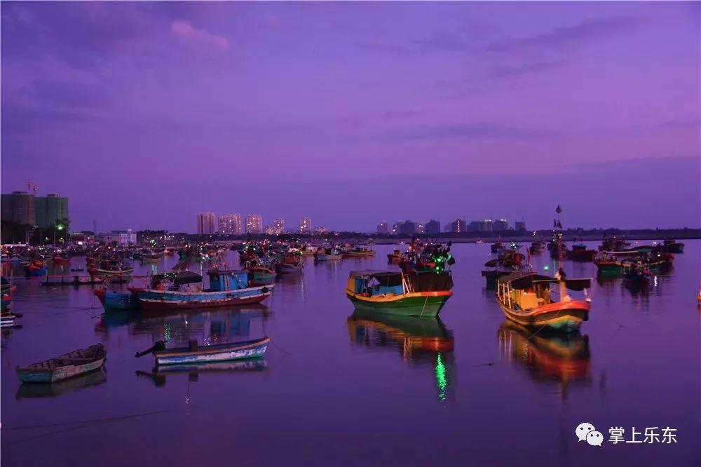 海南八大渔港之一,乐东岭头国家一级渔港