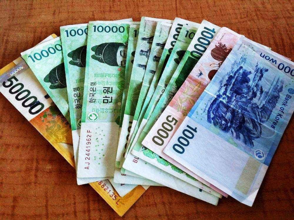 130万韩元_冥币与韩元(爆料你见过最不值钱的钱吧)