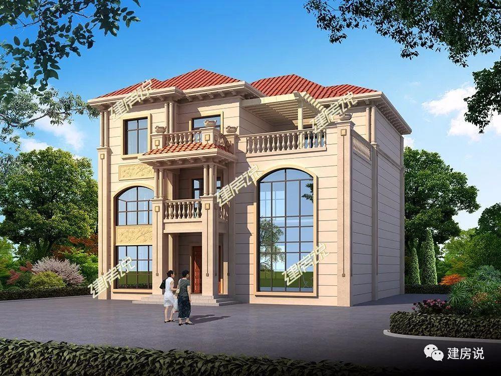 10套精美成都房,真正有钱人不买房,而上千别墅建别墅万是在农村小洋图片