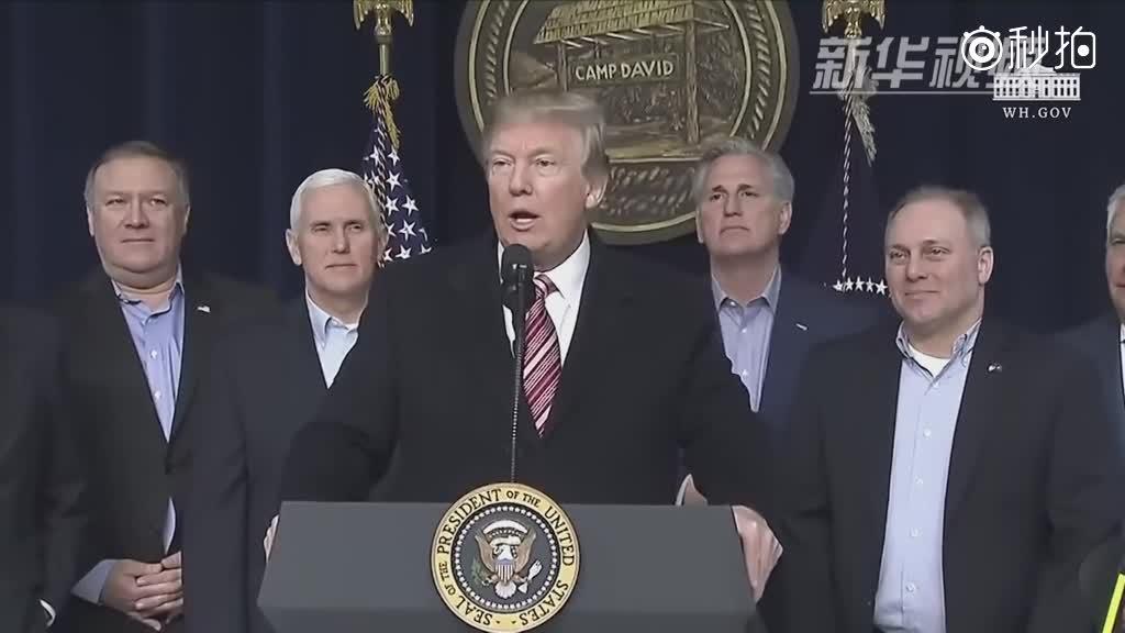 特朗普表示愿与金正恩展开有条件对话