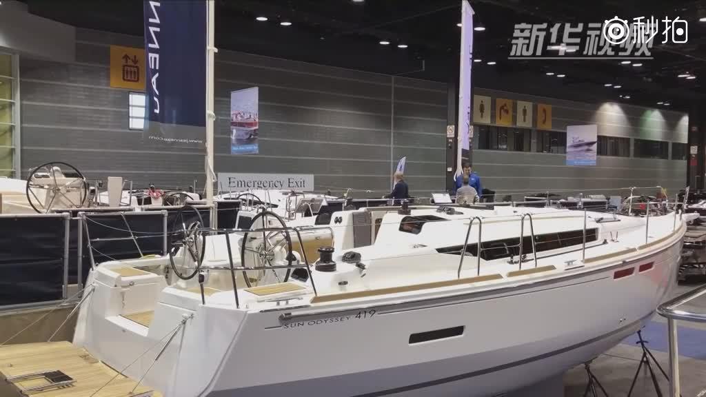 芝加哥举行游艇、帆船和房车展
