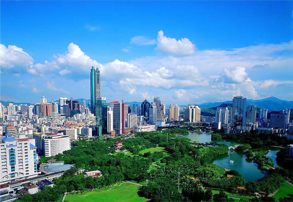 中国宜居城市第九:深圳图片