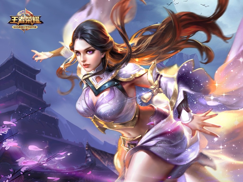露娜(紫霞仙子) 露娜最有收藏价值的皮肤就是她的紫霞仙子!