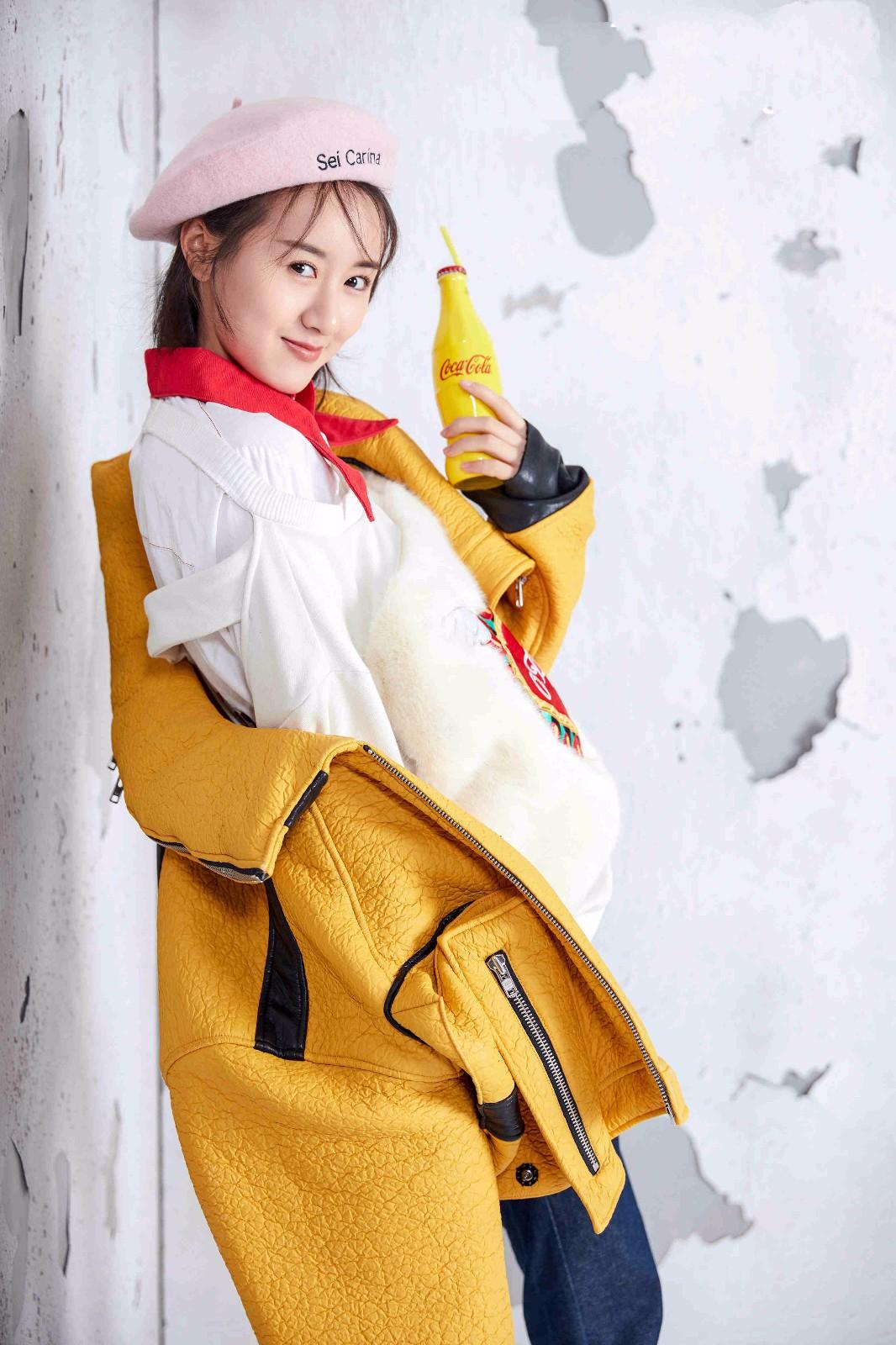 袁冰妍时尚写真玩转混搭风 完美诠释糖果系女孩