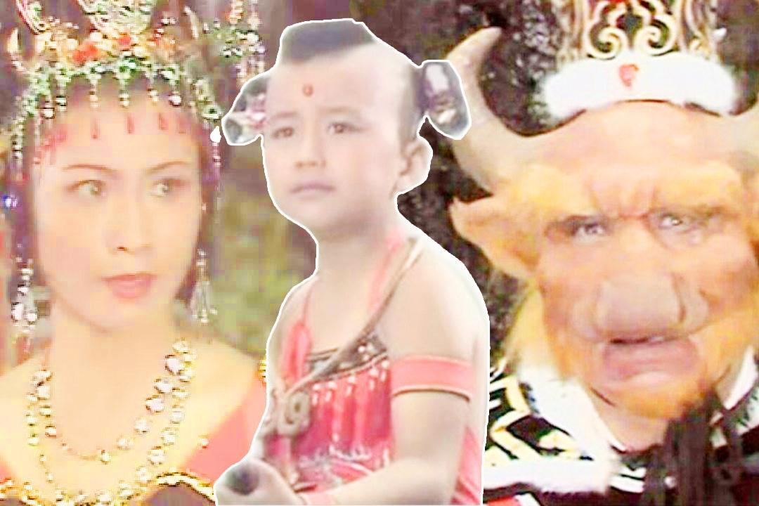 西游记中红孩儿吃唐僧肉为何只请牛魔王不请铁扇公主?