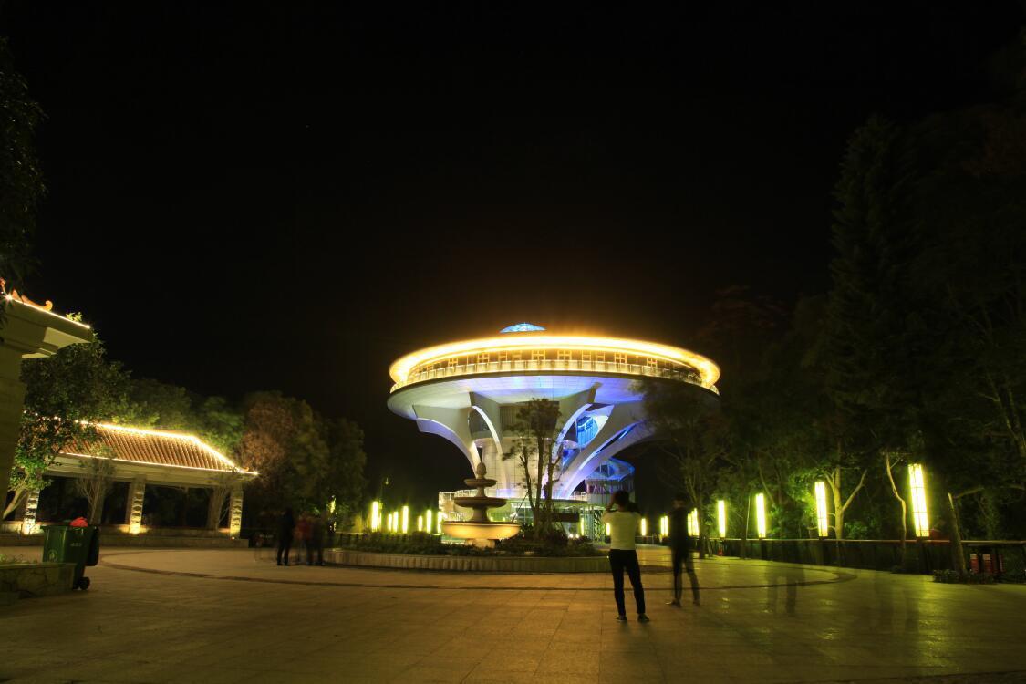 梅州最美的森林公园 可俯瞰兴宁夜景(图2)